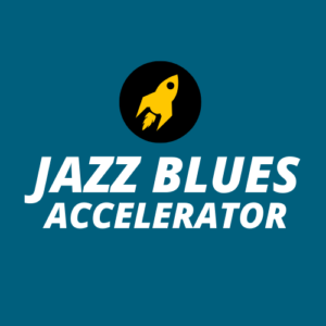 Jazz Blues Accelerator is my powerful jazz blues practicing course that digs deep into a process for jazz blues mastery.