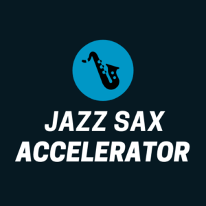 Jazz Sax Accelerator is our power-house jazz sax course that helps you dominate the essentials and accelerate your jazz sax playing